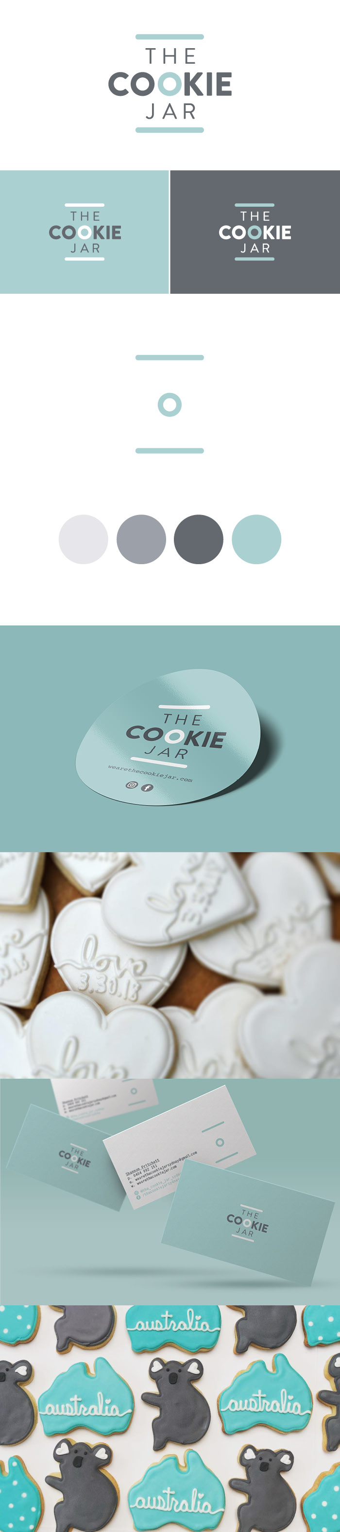 the cookie jar logo work